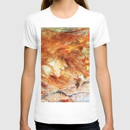 A Gust of Autumn Wind portrait painting by Lucien Levy Dhurmer T-shirt