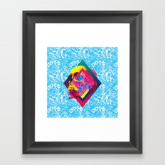 Lifeful Skull Framed Art Print