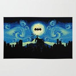 Starry Knight Gotham City Rug