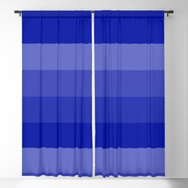 Four Shades of Blue Blackout Curtain