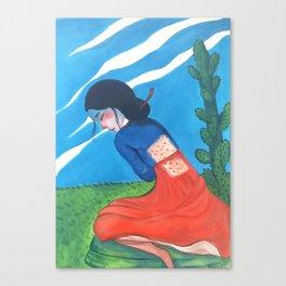 Cactus Skin Canvas Print
