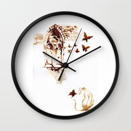 Where did that came from Wall Clock