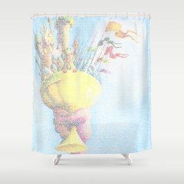 Monty Python & The Holy Grail. The Script Print! Shower Curtain
