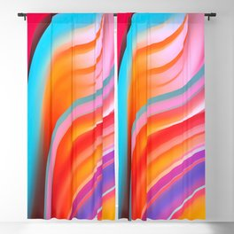 Sunset Series: Abstract 13 Blackout Curtain