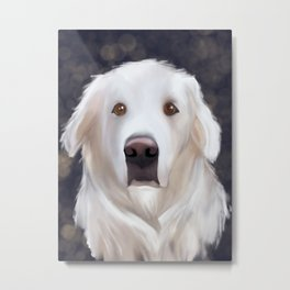 Miss Lucy Metal Print