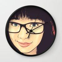 geek Wall Clocks featuring Geek by FalcaoLucas