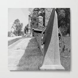 High Water Mark Memorial Metal Print