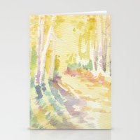 forrest Stationery Cards featuring Forrest by Susie McColgan