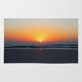 Sunrise on St Augustine Rug