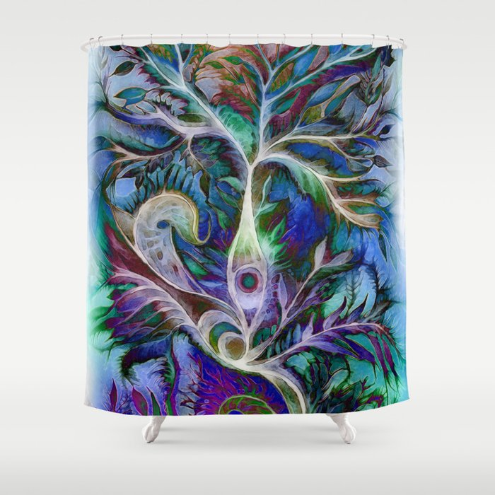Tree of Life 2017 Shower Curtain