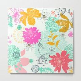 Floral vector pattern best idea Metal Print
