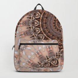 Mandala romantic pink Backpack