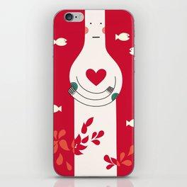 It is in my heart already iPhone Skin