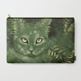 Fern Cat- El gato helecho Carry-All Pouch