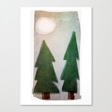Forest nights Canvas Print