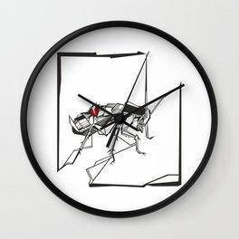 Die Verwandlung - Illustration Wall Clock
