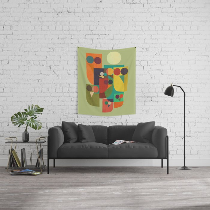 Owl squad Wall Tapestry