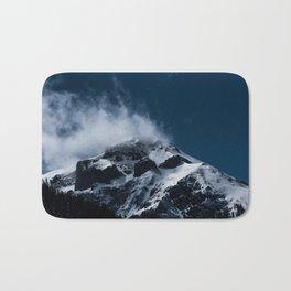 Crushing clouds #mountain #snow Bath Mat