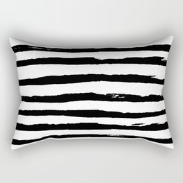Ink Stripes Rectangular Pillow