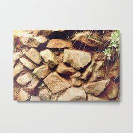 rock that wall Metal Print