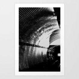 Kiev metro(1) Art Print