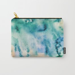 Watercolor abstract many color no.16 Carry-All Pouch