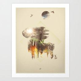 Kingdom3 Art Print