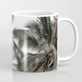 Green palm trees Coffee Mug