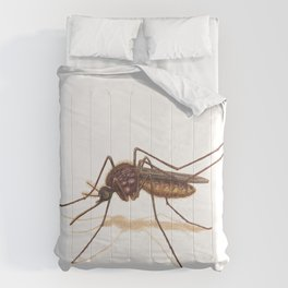 Mosquito by Lars Furtwaengler | Colored Pencil / Pastel Pencil | 2014 Comforters
