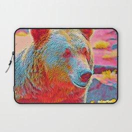 Popular Animals - Bear Laptop Sleeve
