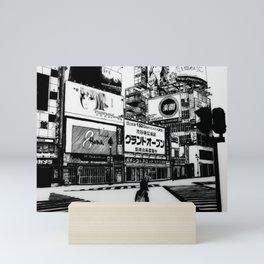 Yokai in Shibuya Mini Art Print