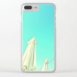 Clear skies Clear iPhone Case