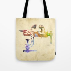 Industrial Clamp Tote Bag