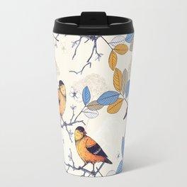 Birdie Pattern Travel Mug