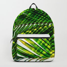 Palm Frond Strong [green] Backpack