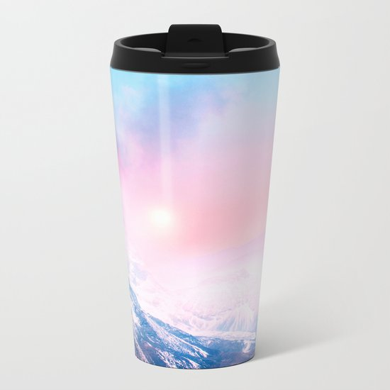 Pastel vibes 27 Metal Travel Mug