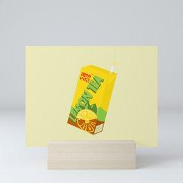 Vita Lemon Tea Mini Art Print