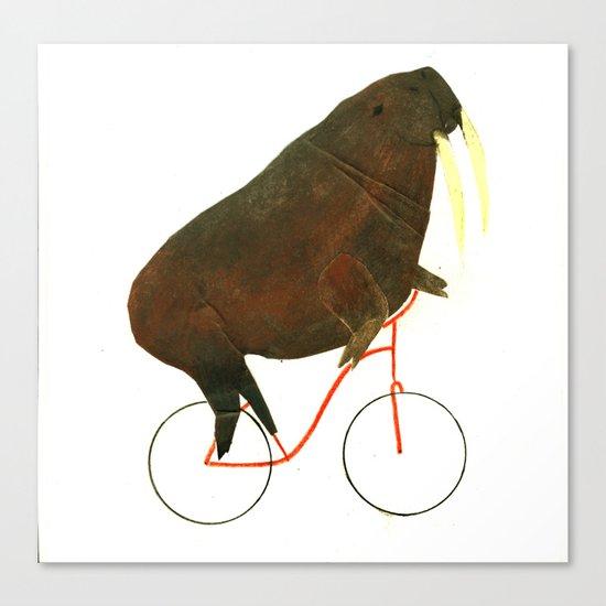 Reason FOUR for using bike: Canvas Print