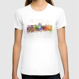 Sucre skyline in watercolor background T-shirt