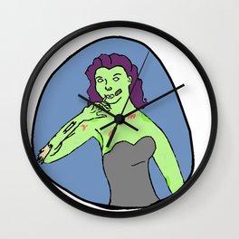 Priscilla Zombie Wall Clock