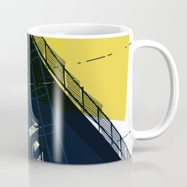 East London trainlines 2 Coffee Mug