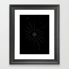 Stellar Evolution Framed Art Print