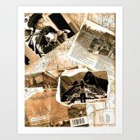 peru Art Prints featuring Peru  by Megan S