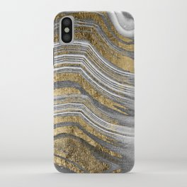 Abstract paint modern iPhone Case