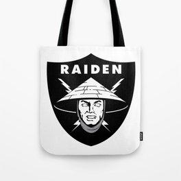 Raiden Raiders Tote Bag