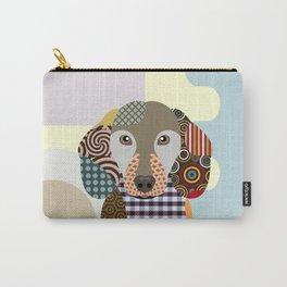 Dachshund Dog Pop Art Cubism Carry-All Pouch