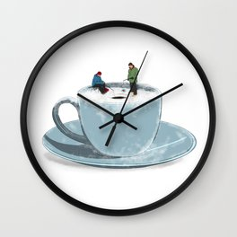 Cold Brew Wall Clock