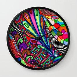 Color Overload Wall Clock