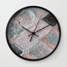 Brick Flooring of Old Mellifont Abbey Wall Clock