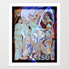 Feeling like Pablo Picasso tsoL Art Print